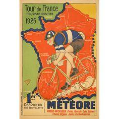Meteore Cycles / Tour de France 1925 advert