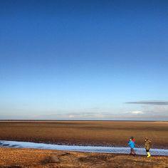Holkham Beach in Holkham, Norfolk