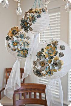 Fun ideas for decorating lanterns