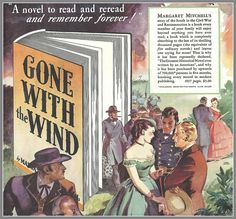 1936 Gone With the Wind ad for the novel