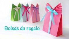 Haz tus propias bolsas de regalo | Aprender manualidades es facilisimo.com