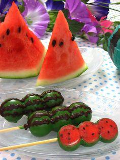 チョコマント すいか味」は日本一の団子メーカー株式会社丸八製菓が本気で作った新食感スイーツ団子