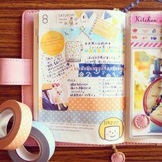 Smash Book, Hobonichi Techo, Hobonichi Ideas, Sketch Journal, School Planner, Art Journal Inspiration, Journal Ideas, Cute Stationery, Planners