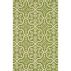 Handmade Indoor/ Outdoor Capri Peridot Rug (5'0 x 7'6) | Overstock.com Shopping - Great Deals on Alexander Home 5x8 - 6x9 Rugs