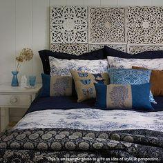 Moroccan Inspired Home Decor. Hand Carved Teak Wood di SiamSawadee