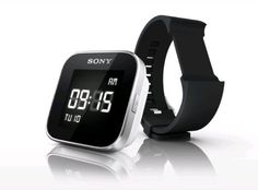 Sony MN2SW SmartWatch for Android Phones - Retail Packaging - Black: Cell Phones