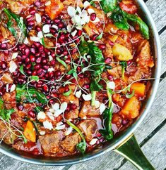 This recipe can be thrown together in no time at all and left to slowly cook in the oven. This is a fantastic family dish and a great introduction to spice for young children as there is a lovely sweetness that balances the heat. Rose Harissa, Lamb Dinner, One Pot, Paella, Vegetable Pizza, Family Meals, Curry, Oven, Spices