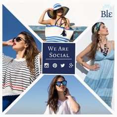 You will find us on facebook, instagram, twitter and google+! Because we love communicating with you any way possible! https://www.facebook.com/BleCollection https://www.instagram.com/ble_collection https://twitter.com/ble_collection https://plus.google.com/+Ble-shop
