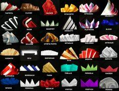 pocket square types & folds ( #mensstyle #bespoke #diy #howto #fashion #style ) | H U M Λ N™ | нυмanΛCOUSTICS™ | н2TV™