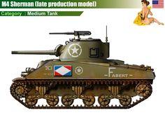 M4 Sherman (late production model)