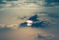 funky sun (rondaloo) Tags: sky sun clouds