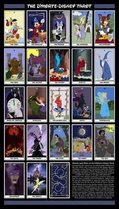 Tarot de Disney Encuéntrame en https://www.facebook.com/milectura.detarot