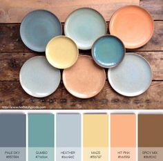 PASTEL PLATE CRUSH i would love that yellow and pale blue for a bathroom