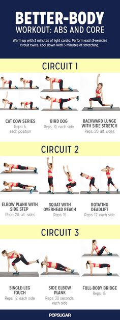 Pin for Later: A Quick and Effective Core Workout