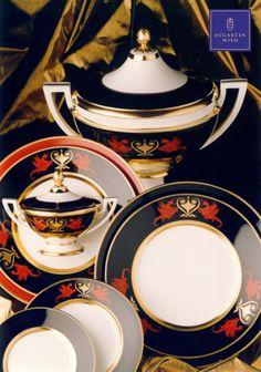 Augarten Wien, Classical Period, Gold Ornaments, Mythological Creatures, Vienna Austria, Luxury Shop, Fine Porcelain, Traditional Wedding, Black Backgrounds