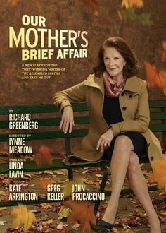 With razor-sharp wit and extraordinary insight, 'Our Mother's Brief Affair' considers the sweeping, surprising impact of indiscretions both large and small. Broadway Posters, Theatre Posters, Movie Posters, Broadway Plays, Broadway Shows, Theater Tickets, Get Tickets, Affair, Insight