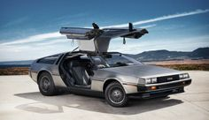 Stainless steel Delorian