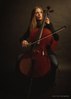 Girl and Cello by Steve Turner - Photo 67888521 / 500px