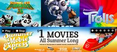 Check out these kids' summer movies as low as $0.50 at Regal and Cinemark theaters!