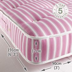 Pocket Sprung Single Raised Bed Mattress £268