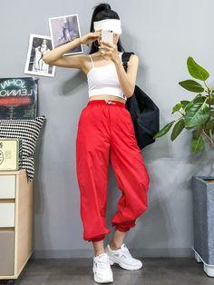 Check out this Gorgeous korean street fashion best pants for men la mafia moda masculina street street moda Korean Fashion Trends, Korean Street Fashion, Korea Fashion, Asian Fashion, Girl Fashion, Fashion Looks, Fashion Outfits, Kpop Outfits, Korean Outfits