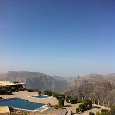 Views of Oman's Grand Canyon - Jabal Shams