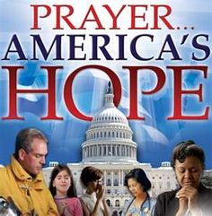 That's what America needs to do. Praying to Jesus Christ for salvation is the only way to save America.