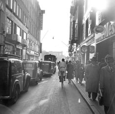 1951 Copenhagen Denmark, Street View, In This Moment, Modern, Pictures, Danish, Inspiration, Instagram, By