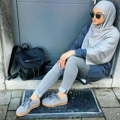 Pre-spring hijab outfits – Just Trendy Girls