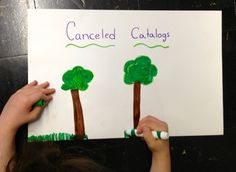 Canceling Catalogs = Saving Trees = An Easy Earth Day Project Earth Day Projects, Genius Hour, Creative Play, Teaching Tips, Inspire Others, Blogging For Beginners, Elementary Schools, Catalog, Trees