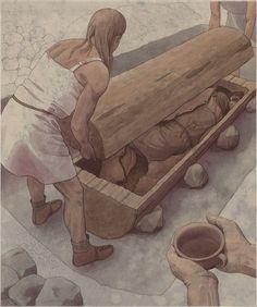Flemming Bau - A burial in the early Bronze Age, Brandenburg