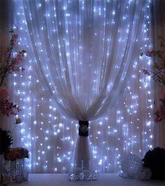 M s de 1000 ideas sobre luces de cortina en pinterest for Cortinas con luces