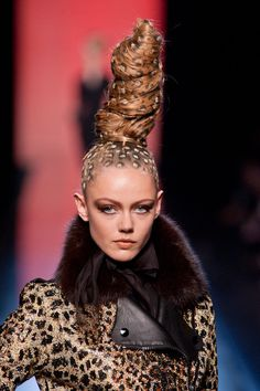 Jean Paul Gaultier at Couture Fall 2013 (Details)