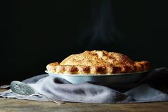 Cider Caramel Apple Pie recipe on Food52
