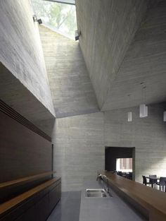 Kitchen At House Designed ByDavid Chipperfield