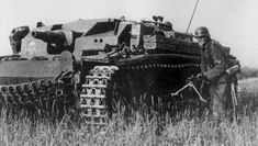 StuG III. Sturmgeschutze means 'Assault gun'. Collectively referred to as Assault Artillery, crews & support troops were actually in the Artillerie arm of Das Heer; rather than in the Panzerwaffe