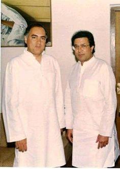 Rajesh Khanna, Sonia Gandhi, Rajiv Gandhi, Superstar, Chef Jackets, Bollywood, India, Actors, Goa India