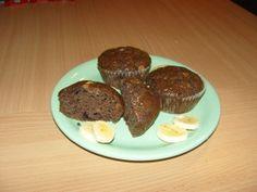 Csokis banános muffin - Csokis muffin Muffin, Beef, Food, Yogurt, Meat, Meal, Eten, Meals, Ox