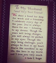 Husband love