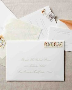 My Harlow Style Addressing By Loveletterer  Envelopes  Addresses