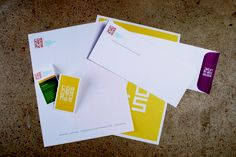 Stationery package for Cornerstones a historic preservation non-profit