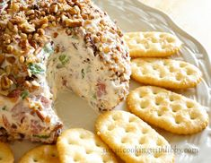 Cooking With Libby: Cheeseball Dip: Cream Cheese, Budding Beef, Green Onions..........