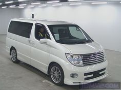 Nissan Elgrand Rider Edition complete with sunroofs and luxury cream leather interior! Imported by Nissan's answer to the Toyota Alphard Nissan Elgrand, Toyota Alphard, Japan Cars, Nagoya, Jdm Cars, Vans, Luxury, Vehicles, Leather Interior