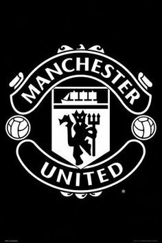 Manchester United - Soccer Poster/Print (The Club Crest) (Size: 24 inches x 36 inches) Manchester United Poster, Manchester United Wallpaper, Manchester United Football, Man Utd Crest, Soccer Poster, Man United, Football Soccer, Soccer Goalie, Football Casuals