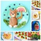 Recetas para niños                                                                                                                                                      Más Food Humor, Funny Food, Chocolate, Funny Animals, Lunch Box, Treats, Snacks, Breakfast, Tableware