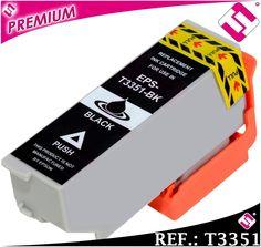 TINTA NEGRA T3351 T3331 XL COMPATIBLE CARTUCHO NEGRO PARA IMPRESORAS EPSON NOOEM