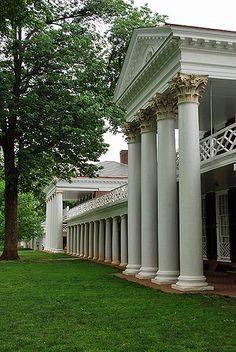 The Lawn, University of Virginia..