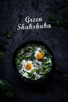 Grüne Shakshuka | seelenschmeichelei.de