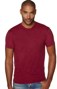 Pack of 6 Next Level Mens CVC Jersey T-Shirt/_Purple Rush/_XSmall