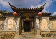 Old Chinese traditional gate With Lanterns In Tuan Shan Village, Jianshui, Yunnan Province, China | Flickr - Photo Sharing!